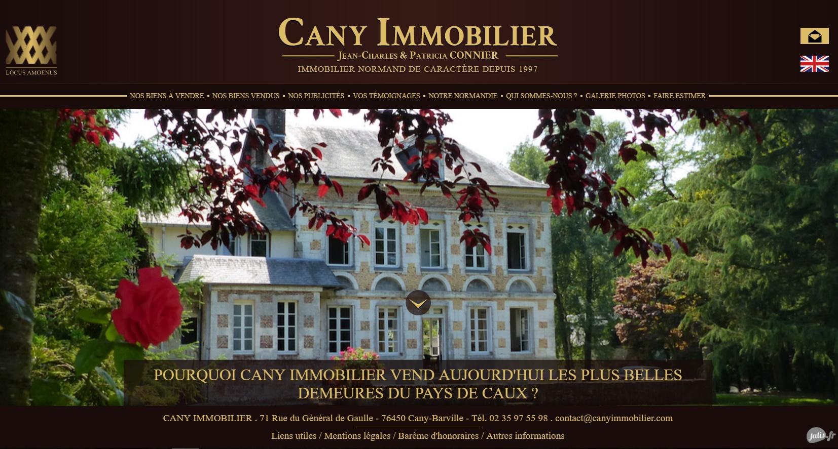 comment faire un site multilingue en immobilier sur le web proche Cany Barville