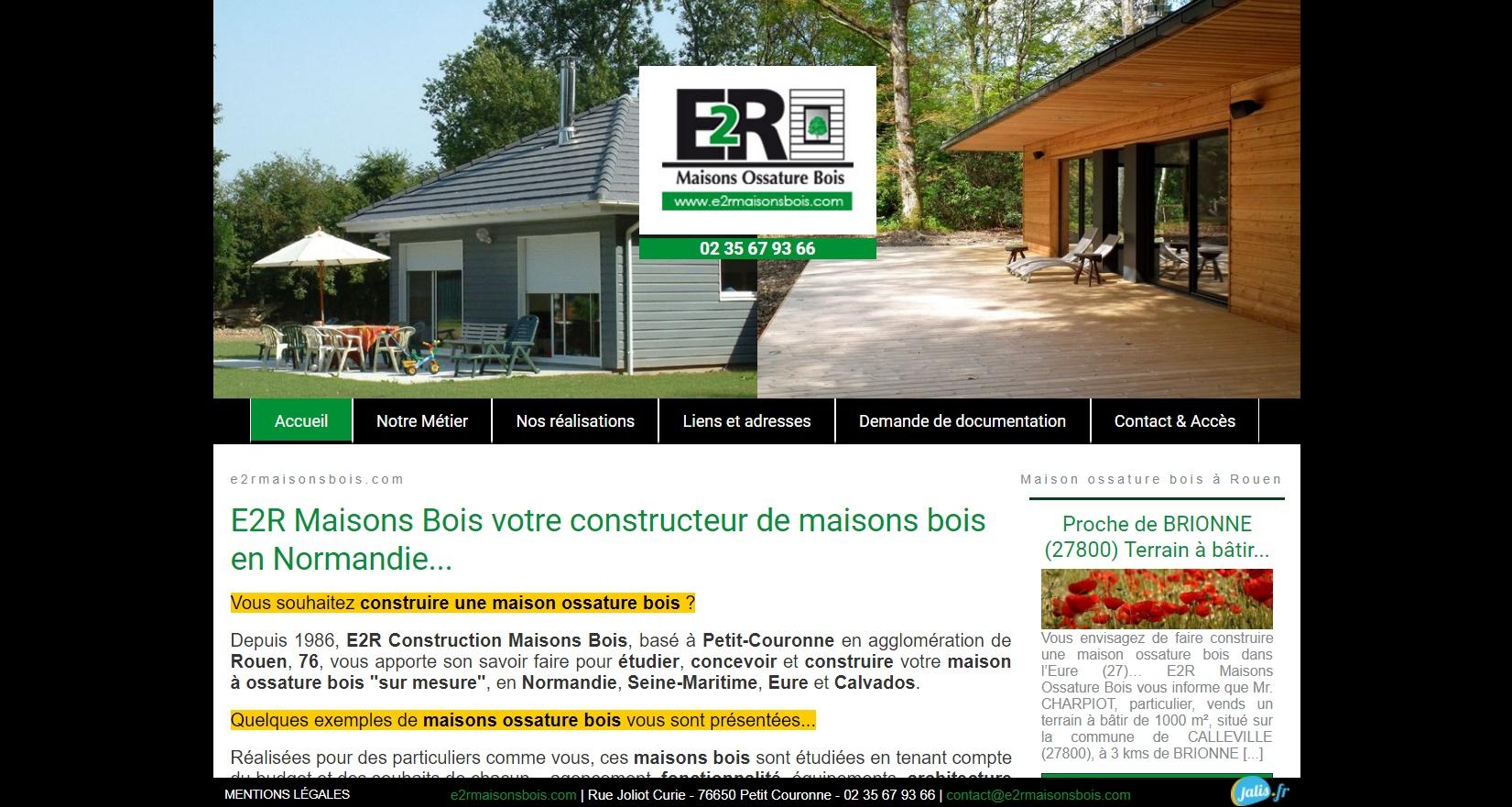E2r Constructions à Petit Couronne 76