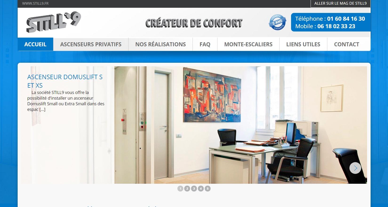 Vente et installation d'ascenseurs privatifs proche Paris