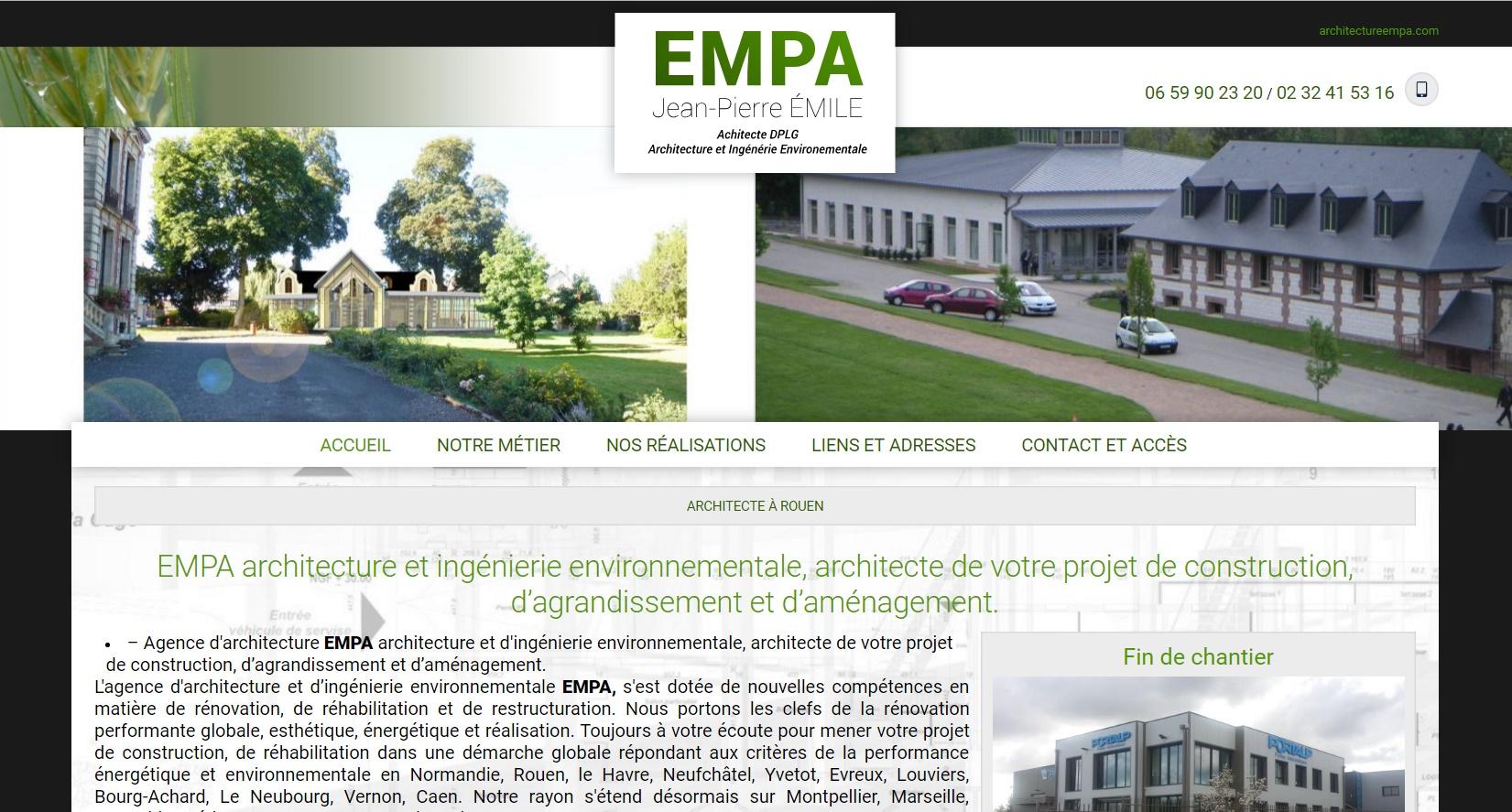 comment referencer un architecte sur google proche Rouen 765