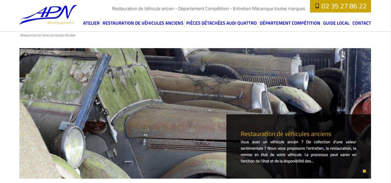 Comment faire appel à une agence Web pour améliorer mon référencement Naturel dans le domaine automobile en Normandie - Garage APN Développement Secteur Fauville en Caux