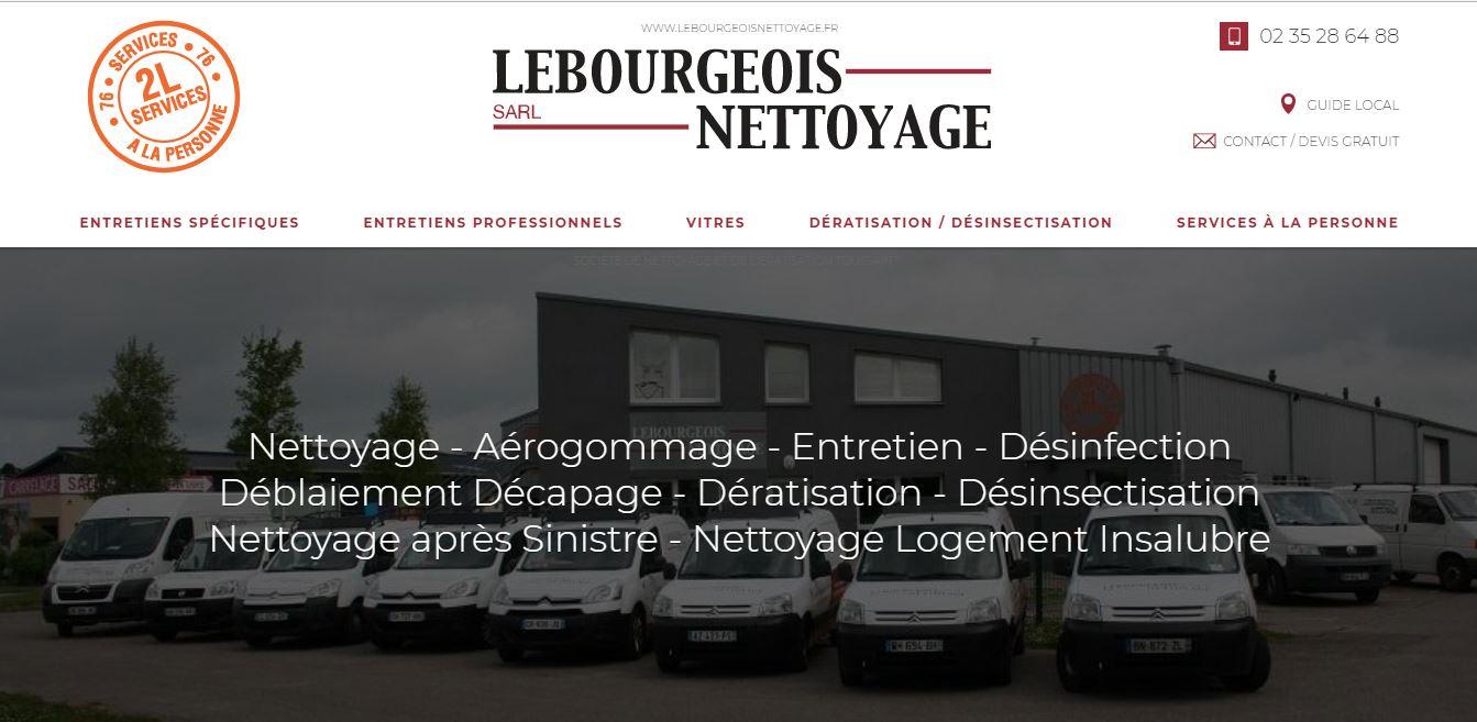 Spécialiste dans le référencement naturel pour les entreprises de nettoyage en Normandie - Lebourgeois Nettoyage secteur Bolbec