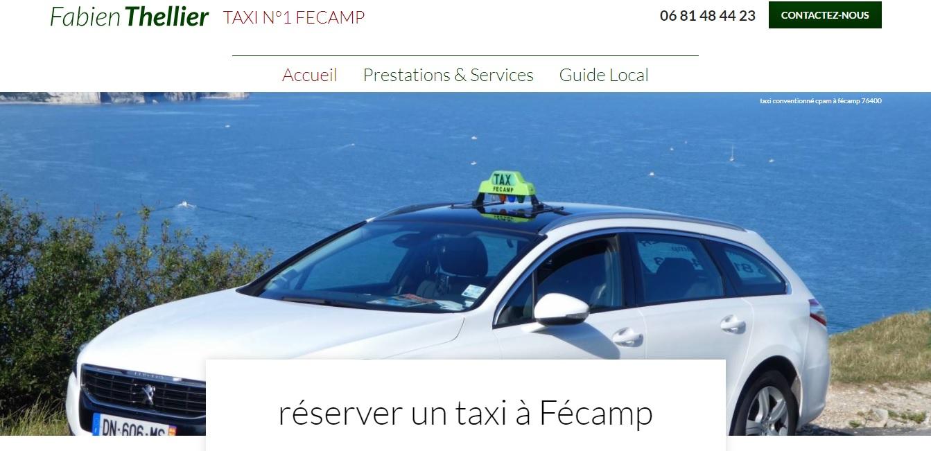 Comment être mieux référencer en naturel pour un chauffeur de taxi en Normandie - Fabien Thellier Taxi N°1 à Fécamp