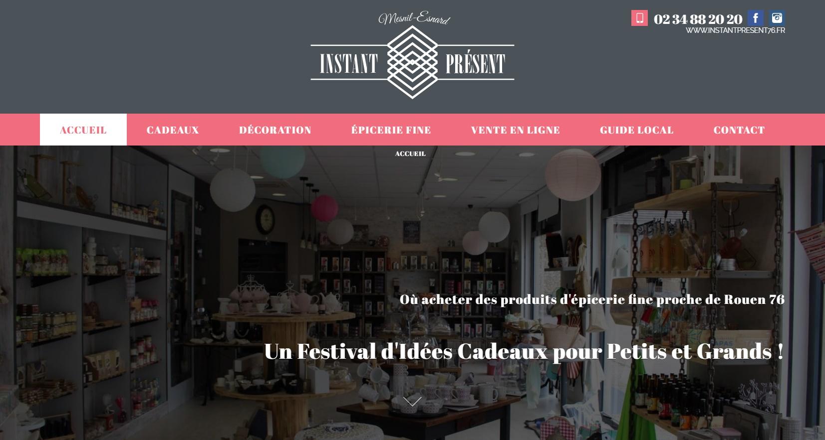 comment trouver une épicerie fine sur internet proche Rouen 76