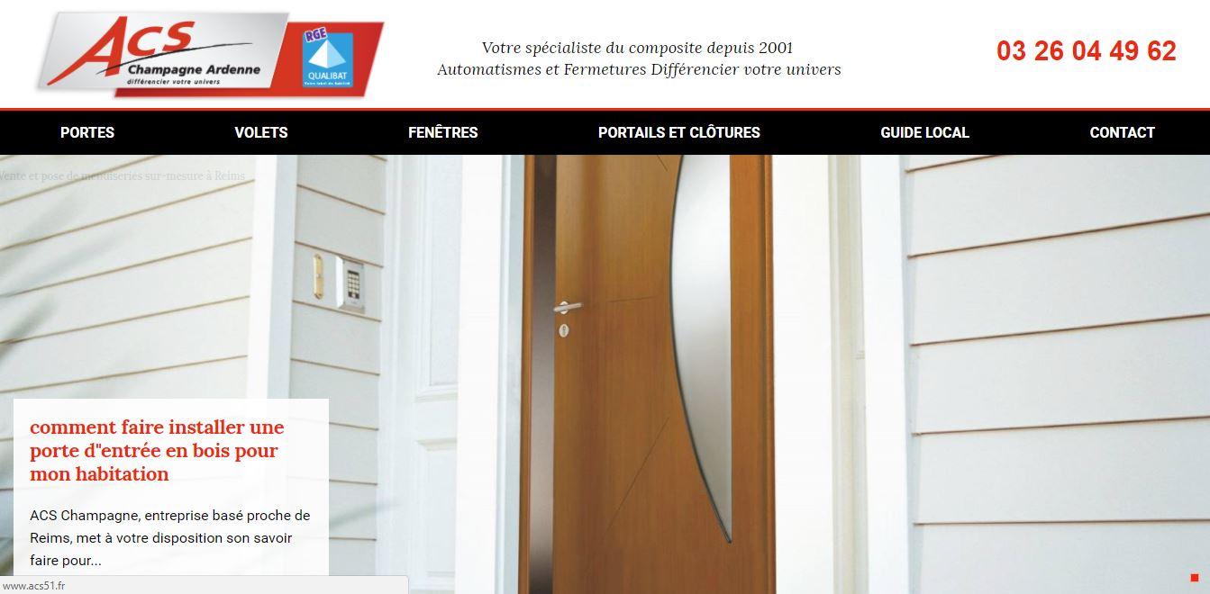 Trouver des sites internet sur mesure avec référencement sur la ville de Reims pour acs 51
