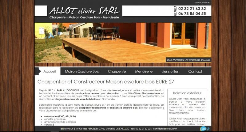 Charpentier et Constructeur Maison ossature bois EURE 27