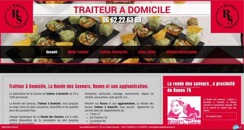 traiteur à domicile pour particuliers et entreprises en Normandie