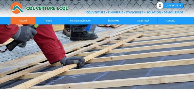 Agence Web pour la mise en place d'un site internet avec référencement naturel pour le domaine du bâtiment secteur Fécamp