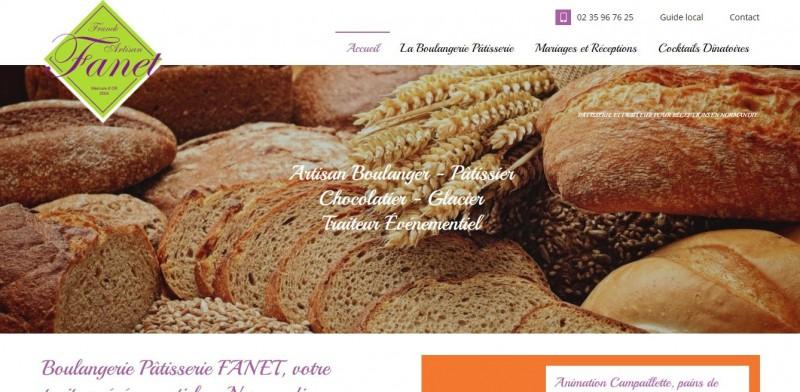 Trouver une agence web pour le référencement naturel pour une boulangerie pâtisserie traiteur en Normandie - Boulangerie Pâtisserie Fanet secteur Yvetot
