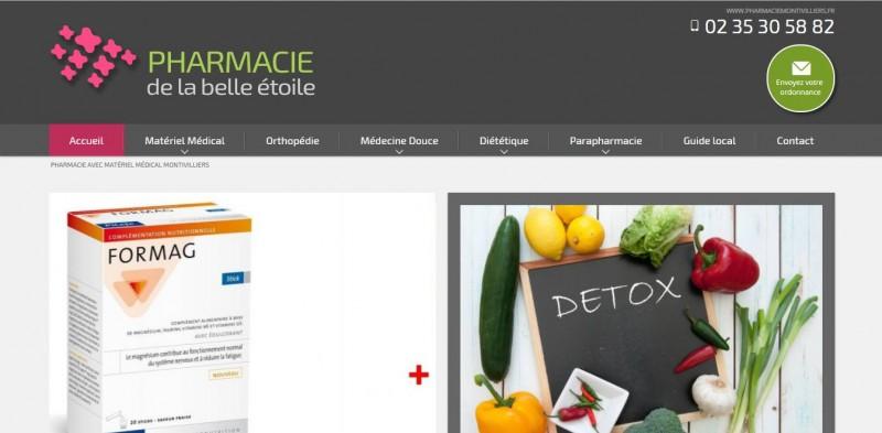 Où trouver un prestataire web pour les pharmacie en Normandie secteur Le Havre