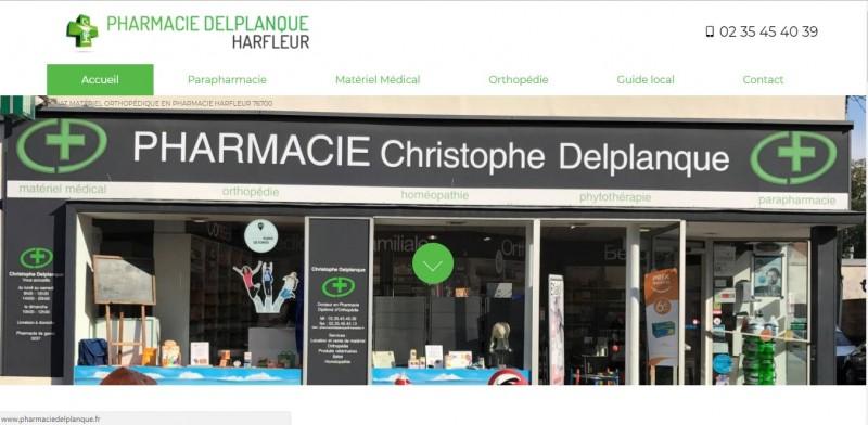 Créer son site internet sur mesure pour les pharmacies en Normandie secteur Le Havre