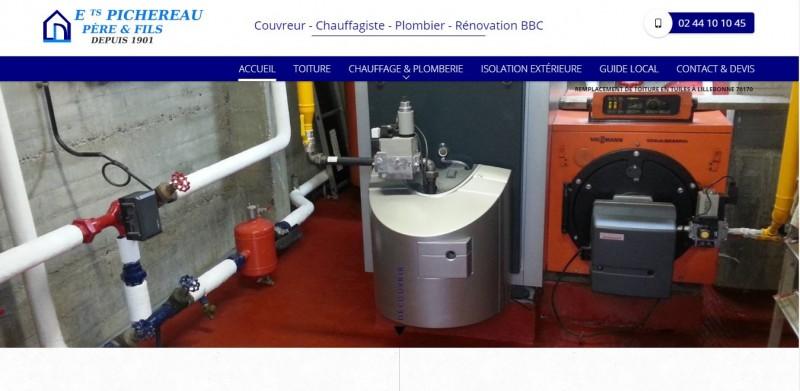 Devis pour site internet pour les couvreurs et plombiers Le Havre