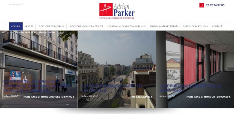 Création de site internet avec référencement SEO pour les agences immobilières Le Havre