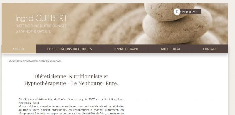 Référencement site pour diététicienne Le Neubourg